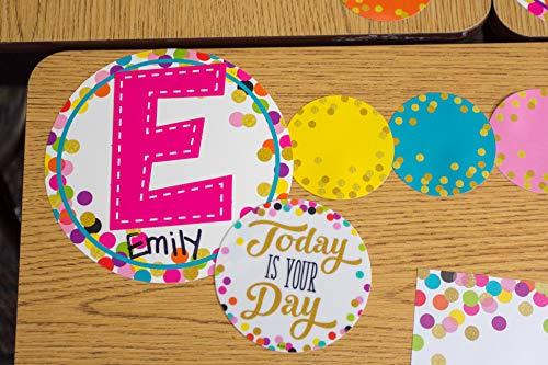 "Teacher Created Resources Multi Bright Stitch 7"" Fun Font Letters Photo #3"