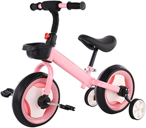 Draisiennes Vélo 2 en 1 de 10 Pouces, Vélo d'équilibre for Enfants à Pied for Garçons, Filles ( Couleur   rose )