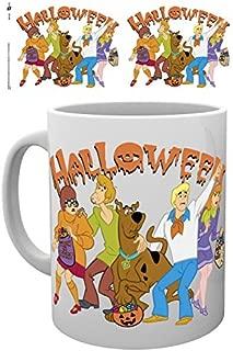 1art1 Set: Scooby Doo, Halloween Mug Photo Coffee Mug (4x3 inches) and 1x Surprise Sticker