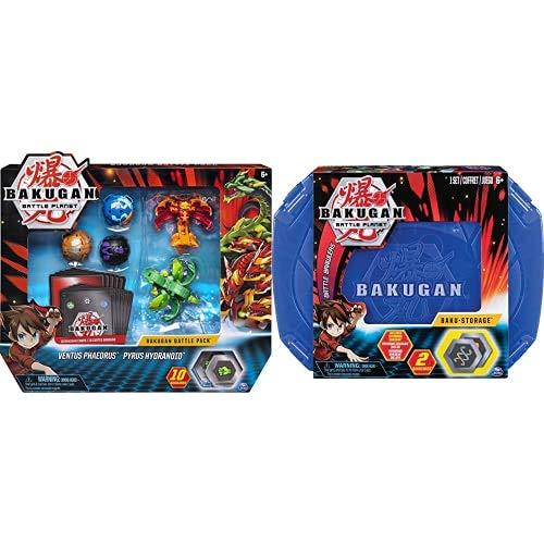 Bakugan Battle Pack, 5 Sfere, Modelli Assortiti, Dai 6 Anni & Valigetta Bakugan