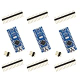 ELEGOO Nano Board CH340/ATmega328P Without USB Cable, Compatible with Arduino Nano V3.0 (Nano x 3 Without Cable)