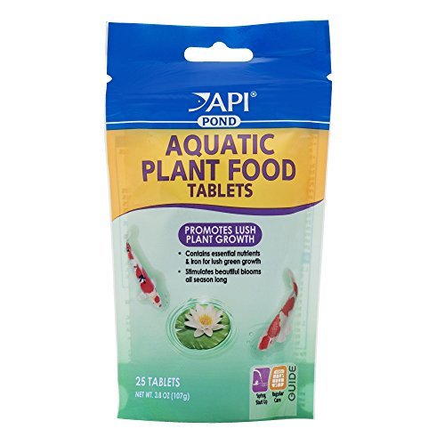 API PONDCARE AQUATIC PLANT FOOD TABLETS Potted Plant Fertilizer 3.8-ounce, 25 Tab (185A)