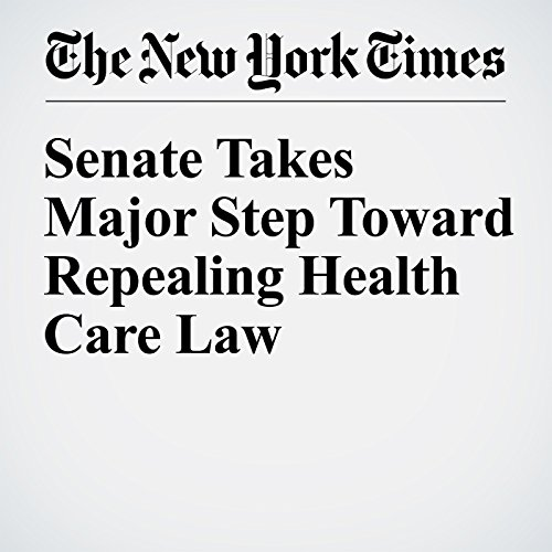 Senate Takes Major Step Toward Repealing Health Care Law copertina