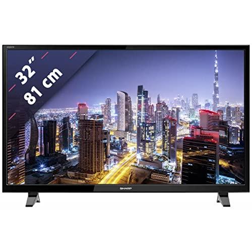Sharp LC-32HG3142E - Televisor inteligente LED HD de 32 pulgadas con freeview y USB 2.0