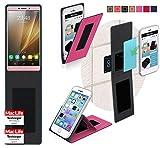 Hülle für VKworld T1 Plus Tasche Cover Case Bumper | Pink