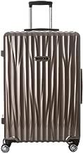 NaSaDen Suitcases with Wheels Aluminium Spinner Luggage TSA Lock 100% PC [ Titanium ] 28-Inch German Design for Travel/Women/Men/Business/Trip [ 1 year warranty ]