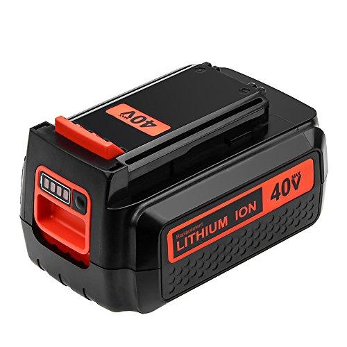 LBXR36 40 Volt 3.0Ah Battery Replacement for Black and Decker 40V Lithium Battery LBX2040 LBXR2036 LST540 LCS1240 LBX1540 LST136W