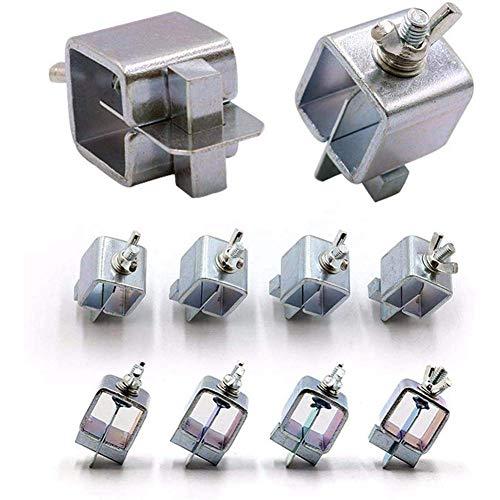 DONDOW Abrazadera de soldadura de 32 piezas, abrazadera de soldadura a tope, abrazadera de posicionador de soldadura ajustable, compatible con herramientas de soldadura