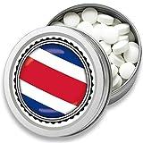 FAN Mint | 3er Set Pfefferminz Bonbons mit Costa Rica Flagge | Geschenk, Souvenir Costa Rica Fahne | Fan-Artikel, Party Deko (Costa Rica)