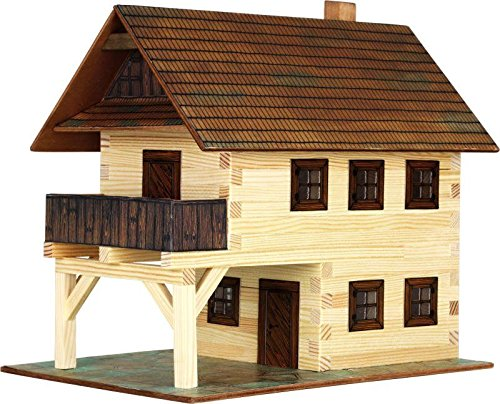 Walachia 8594036430143 - Nr.14 Rathaus Haus Gebäude Holz Modellbauset, Spur 1 LGB 1:32