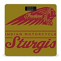 Indian Motorcycle Sturgis 体重計 デジタル 電子スケール ヘルスメーター 電源自動ON/OFF バックライト付き 高精度ボディースケール コンパクト 電池式 薄型 収納便利 体重管理