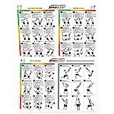 Suspension Trainer Poster 54 Training Exercises - 3