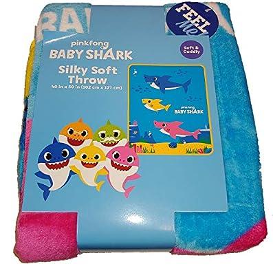 Baby Shark 40in x 50in Throw
