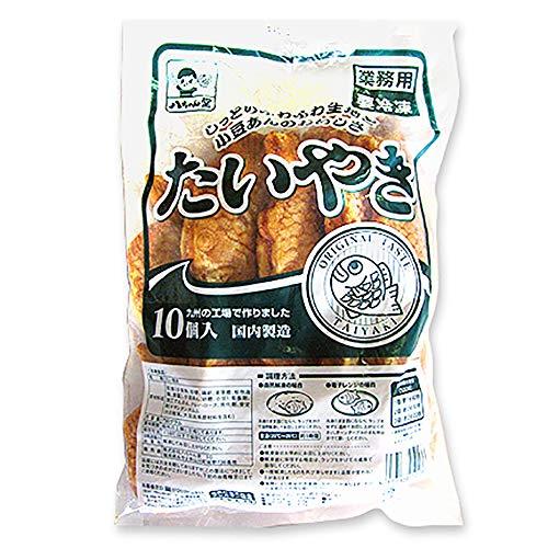 【 業務用 】 八ちゃん堂 八ちゃんたい焼き 小豆あん 75g × 10個 たい焼き