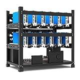 Mining Rig Frame für 12 GPU Mining Case Rack Motherboard Halterung ETH/ETC/ZEC 3 Schichten/Mining Rig Frame for 12 GPU Mining Case Rack Motherboard Bracket ETH/ETC/ZEC 3 Layers