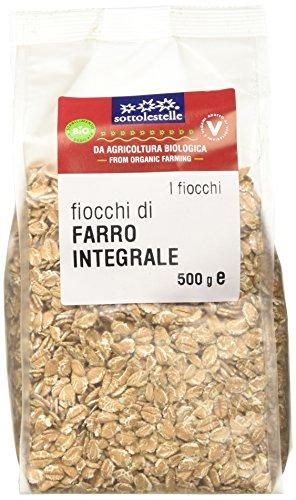 Sottolestelle Fiocchi di Farro - 8 confezioni da 500gr - Totale 4 kg
