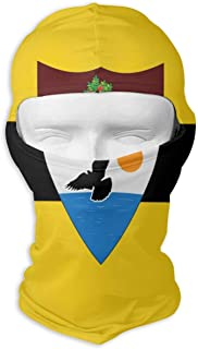 PIOL Flag of Liberland Neck Scarf Sunscreen Hats Ski Mask Sun UV Protection Dust Protection Wind-Resistant Face Mask