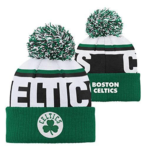 Outerstuff Boston Celtics NBA Youth Knit Pom Hat Green