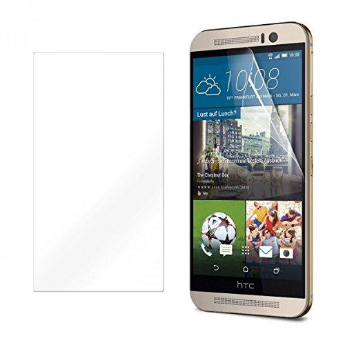 eFabrik Bildschirm Schutzfolie für HTC One M9 & HTC One M9 Prime Camera Edition Folie Anti Beschlag Smartphone Zubehör Kristallklar transparent
