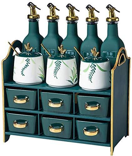 Botella de aceite y vinagre Botellas de aceite de vidrio Condujano JARS COCINA DE COCINA DE ARQUIDAD DE CUCHILLA Y CUCHILLO DE CUCHILLA, PUERTE DE PULCULA DE PULCULA DE VINO DE ACEPÍTOS COCINA DE PULS