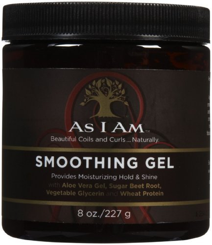 As I Am Smoothing Gel, 8 Ounce by As I Am [Beauty] (English Manual)