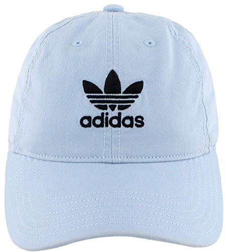 adidas Originals Women's Relaxed Fit Adjustable Strapback Cap, Ice Blue, One Size