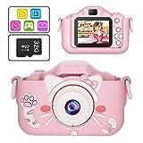 Kids Digital Camera Toys, 1080P Dual Lens 20.0MP Toddler Video Camera for...