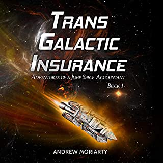 Trans Galactic Insurance audiobook cover art