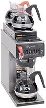 BUNN CWTF-DV S/S Automatic Coffee Brewer with 2U/1L Warmers