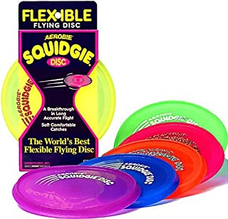 Aerobie Squidgie Flying Disc | 3-Pack | Colors May Vary