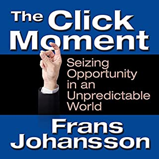 The Click Moment audiobook cover art