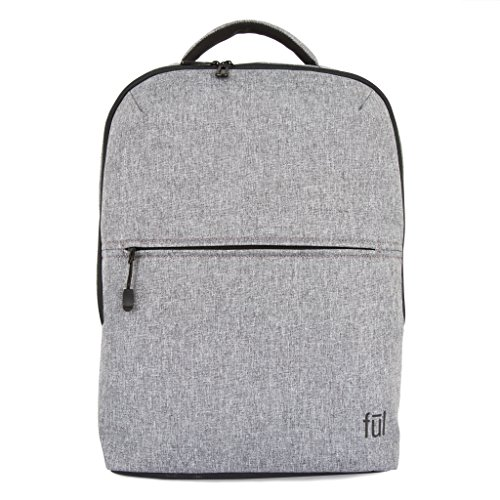 ful Hans Laptop Backpack, Heather Grey, One Size