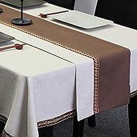 ウェディングパーティーの装飾コットンリネンテーブルクロスホームデコレーションテーブルランナーのための自然を模倣リネンテーブルランナー (Size : 32*180cm)