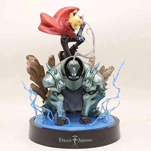 WIJJZY Fullmetal Alchemist : Brotherhood Edward Elric Action Figures Figure di Anime Personaggio Statue Modello in Scatola Regalo di Compleanno Statue Collection Decorazione