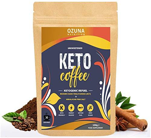 Keto Diet Drink | Bulletproof Coffee with Premium Coconut MCT Oil | Zero Carb, Sugar Free, Low Calorie Ketones Diet Drink | Cinnamon Flavour - 30 Servings