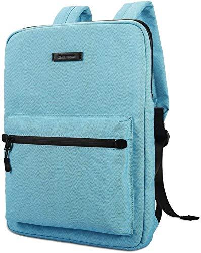 GYY Cajas de Tableta Bolsa de Laptop Lienzo lapewweight Bolso portátil, Mochilas de la computadora portátil de la Moda, 15.6 Pulgadas (Color : Blue, Size : 15-15.6inch)