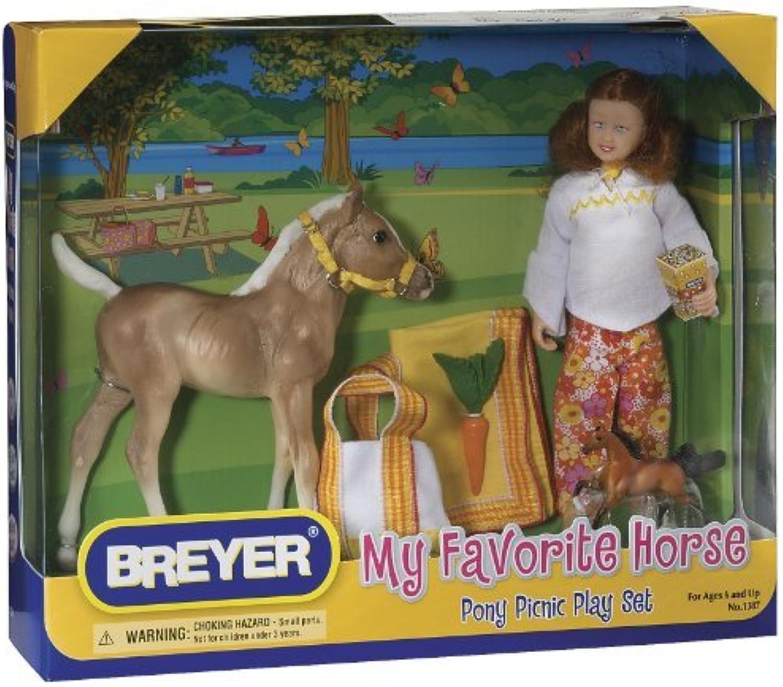 venta con descuento Pony Picnic by by by Breyer  para proporcionarle una compra en línea agradable