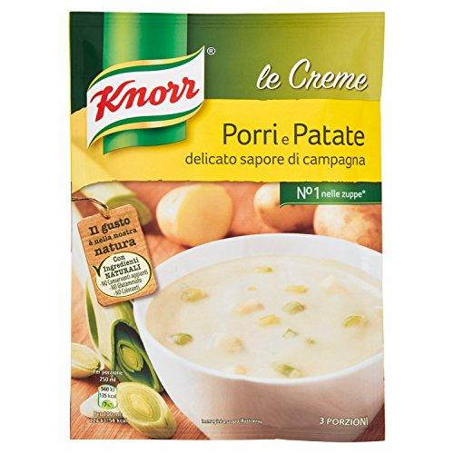 KNORR - Crema con Porri e Patate, 3 Porzioni