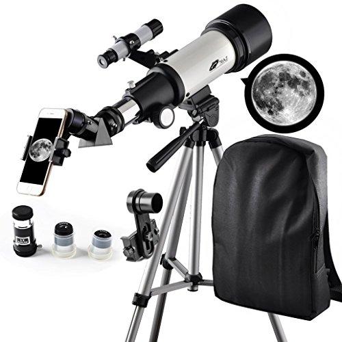 Telescopio 70 mm Aperture Travelscope 400 mm AZ Mount - Buen compañer