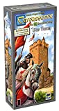 Asmodee Carcassonne - The Tower, 4th Expansion, Family Game, Strategy Game, German