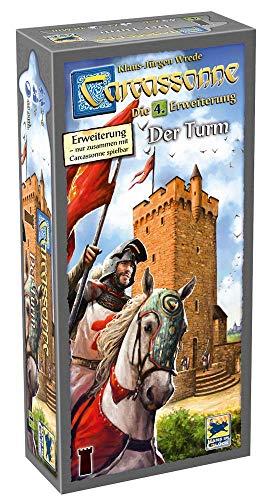 Asmodee Carcassonne - Der Turm, 4. Erweiterung, Familienspiel, Strategiespiel, Deutsch