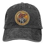 Gorra del Camionero,La Segunda Guerra Mundial, Día 75, Aniversario, Paracaidista, Soldado, Denim, Papá, Sombreros, Gorra de Béisbol Ajustable