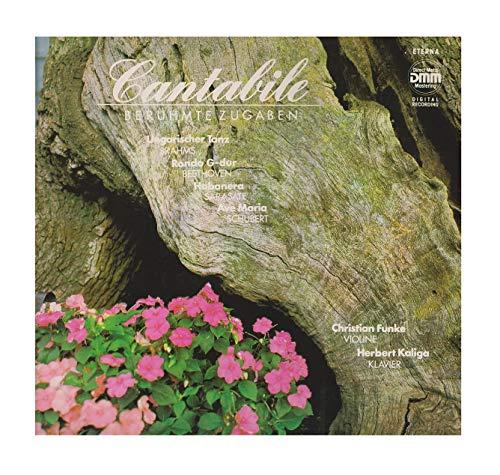 Cantabile - Berühmte Zugaben. Christian Funke, Herbert Kaliga. Digital Stereo