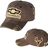 Chevrolet Frayed Camo Hat (Brown)