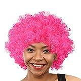 UFACE Perruques et postiches pour adultes 2019 Le Carnaval Venetian Party Disco Funny Afro Multicolores Cheveux Football Fan-Enfants Afro Mascarade Perruque De Cheveux Décorations Accessoires de fête