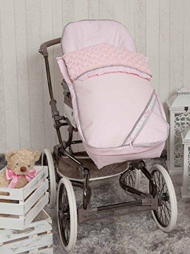 Babyline Bombón - Saco para silla de paseo, color rosa