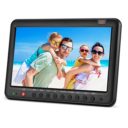 Portable TV with Freeview DVB-T2/DVB-T 10.1inch built-in li-ion battery small...