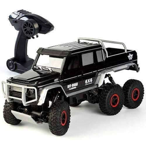 SXLCKJ Remote Control Off-Road Vehicle Alloy Six-Wheel Drive High Speed Pickup Truck Climbing Car Wireless Remote Control Bicy(rc car) -  sjyykcc268