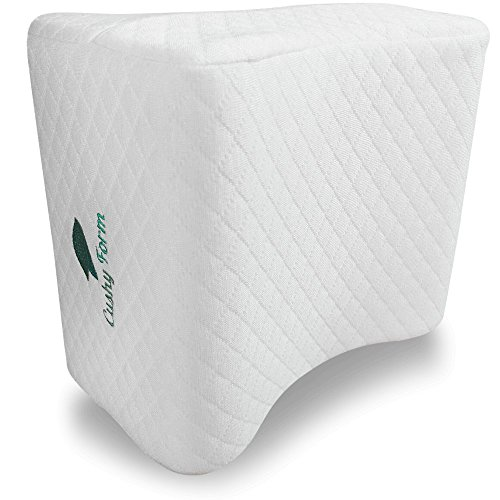 Cushy Form Knee Pillow for Side Sleepers - Sciatic...