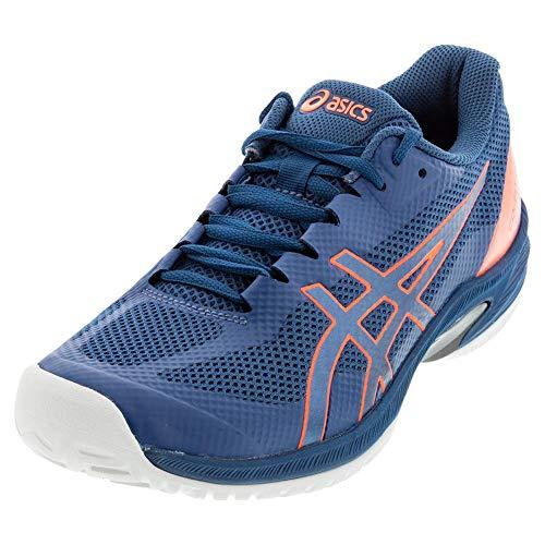 ASICS Men's Court Speed FF Tennis Shoes, 10.5M, MAKO Blue/MAKO Blue